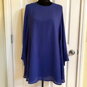 Lucca Couture NWT Blue Dress Sz S